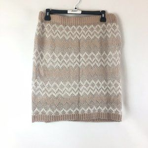 Maurices Mini Sweater Skirt Size XL